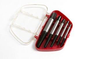 1 x 5 Piece extracteurs de vis avec mallette 3mm – 19mm