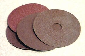 100mm Abrasifs en oxyde d'aluminium Disques abrasifs pour Meuleuse d'angle P120.. Prix par 25