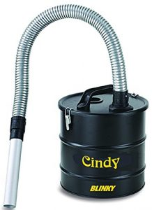 Blinky 99330-10 Cindy Bidon vide cendres avec flexible métallique 18 l