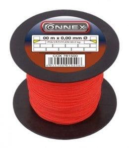 Connex COX781547 Cordeau de maçon 100 m Max 60 kg 1,7 mm Rouge