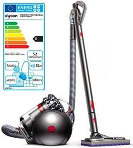 Dyson Cinetic Big Ball Absolute Cylindre 1.6L 1300 W E Nickel – Aspirateur (Cylindre, E, étage, maison, Tapis, sol dur, a)