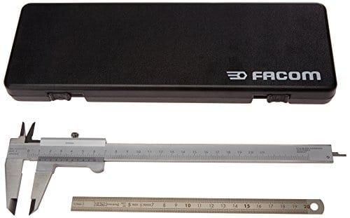 Facom SC.2540.00 Pied à coulisse intérieur/extérieur 200 mm + réglet