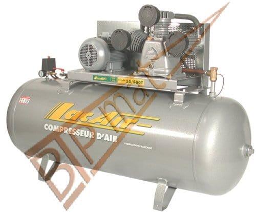 Lacme – Compresseur Triphasé Tricylindre 500 Litres – 11 Bar