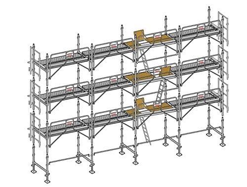 Lot de 130m2 AERIS 45 structure + GCF + plancher Altrad