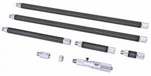 Micromètre Insize 3634-6100tubulaire à l'intérieur, 100mm-6100mm