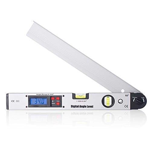 Niveau Bulle Digital 40 cm Inclinomètre électronique Mesure d'angle numérique