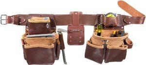 Occidental Leather 5080DB LG Ceinture porte-outils à 2 sacs TailleL