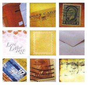 RAYHER hobby 7872800 autocollant post-époxy – 3 x 3 cm, sB-karte 9 motifs