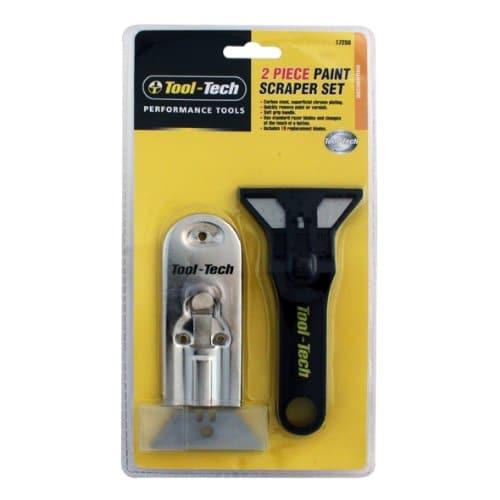 Tool Tech Lot de 2 grattoirs