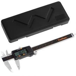 VonHaus 6» Numérique Caliper Pied à coulisse digital outil micromètre vernier affichage LCD