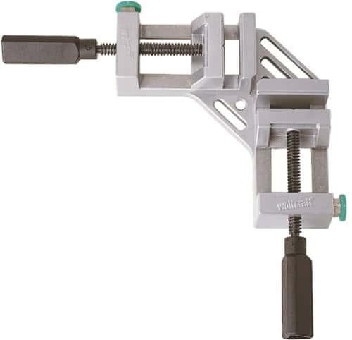 Wolfcraft 3415000 Étau d'angle pour établi Ouverture jusqu'à 65 mm