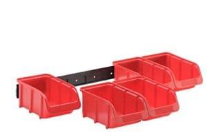 Hünersdorff Vision Set de Boîtes, 1pièce, rouge, 656420