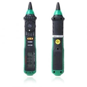 Mastech MS8211 Pen-type multimètre Digital sans contact AC tension détecteur automatique de la gamme Clip sac Test