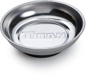 Titan Outils 11189Plateau magnétique Pièces–Argent