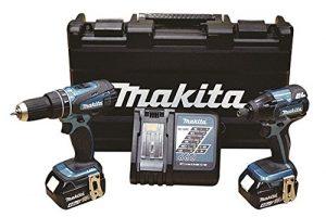 Makita DLX2115MSP Kit Combo Dhp456Z Dtd129Z bl1840 x 2