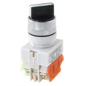 Water & Wood LAY37 Ui660V 2 Position Industrial Selector Rotary Switch