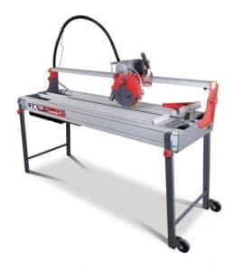 Scie de carrelage électrique RUBI DX-250 1000 Laser et Niveau