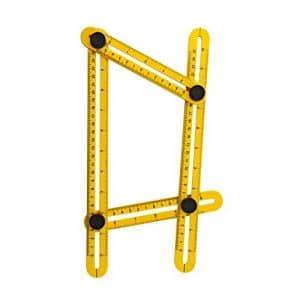 Aboat Angle-izer Outil de modèle, modèle de Règle à angles Mesure toutes les angles et formulaires pour Établis, Constructeurs, Artisans