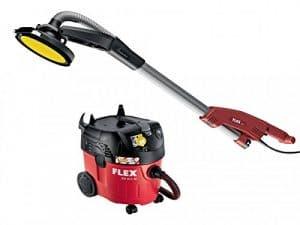 Flex Power Tools GE 5R + tb-l Girafe Fermeture bord tête Sander & vce35Kit Aspirateur 500W 110V