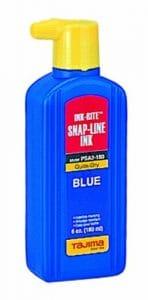 Tajima PSA2–180ink-rite ininflammable à séchage rapide encre bleu avec embout remplissage facile