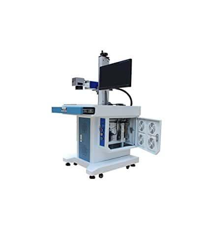 TEN-HIGH Cabinet type Fiber Laser Marking Machine 20W 220V marking machine