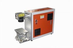 TEN-HIGH Portable Fiber Laser Marking Machine 20W 220V marking machine
