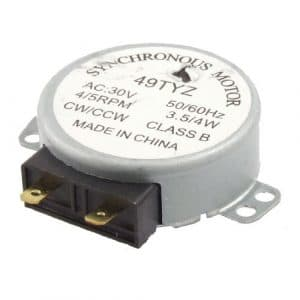Water & Wood AC 30V 3.5/4W 4/5RPM Synchronous Motor for Microwave Oven