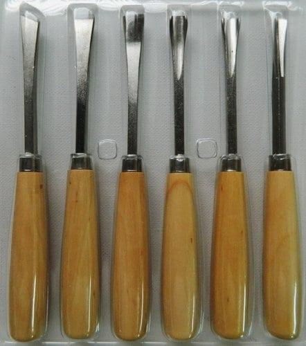 6 gouges pour gravure sur bois sculpture gouge menuiserie - Gouge sculpture bois ...