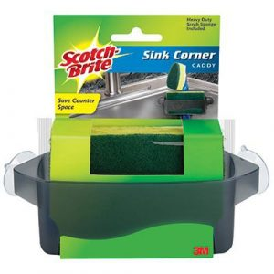 3M COMPANY – Kitchen Sink Sponge & Corner Caddy by 3M