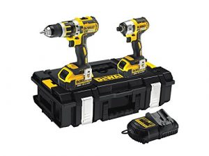 DEWALT DCK250P2-GB BRUSHLESS TWIN PACK 18 VOLT WITH 2 -5.0AH LI-ION BATTERIES