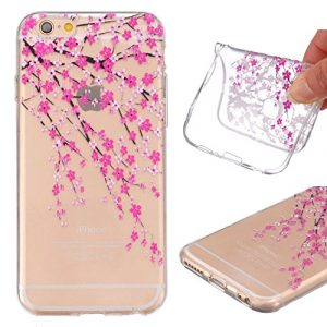 iPhone 6S Housse de iPhone 6S TPU Case, iPhone 6S Transparent Cover, Coque pour iPhone 6S – Housse pour Iphone 6S with 4,7, Soft en TPU souple Skin Design Dandelion Girl Anti Scratch protection en Housse Coque Étui rigide de protection Pochettes pour Apple iPhone 6S/6 4,7