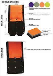 Échafaudage double clé Grenouille/poche/pochette pour ceinture Naylon
