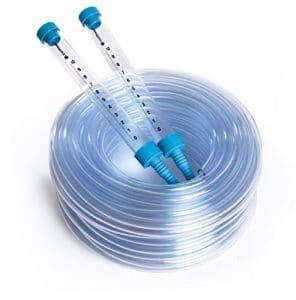 Kit de jauge Niveau d'Eau Tuyau d'arrosage 25m Niveau à bulle Distance Sight tubes