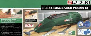 PaRKSIDE pES 200 b1 elektroschaber (manche) –