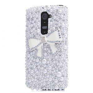 Pour LG G Stylo, EVTECH (TM) Luxe en cristal fait main 3D Paillettes Strass Diamant Etui Housse