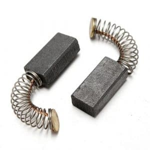 2PCS 14mm x 8mm x 5mm Electric Power Tool Carbon Brushes Repairing Replacement