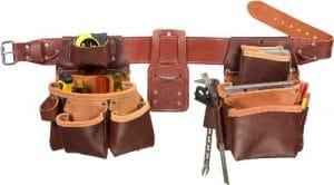 Occidental Leather 38-312 Ceinture porte-outils à 2 sacs pour gaucher TailleXL