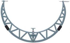 Mitutoyo 105–417Série 105extérieur Micromètre avec extension enclume Collier, 1900Mm-2000mm Gamme, collier de 50mm, graduation 0,01mm