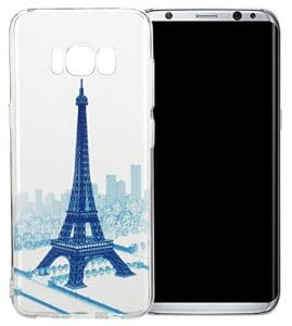 Nnopbeclik [Coque Samsung Galaxy S8 Plus Dessin] « Mignonne Motif » Imprimé Style Soft/Doux Silicone antichoc Transparente Case Backcover Housse pour Samsung Galaxy S8 Plus Coque Silicone (6.2 Pouce) Antiglisse Anti-Scratch Etui « NOT FOR S8 5.8 » – [a15]