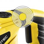 TROTEC Perforateur-burineur PRDS 10-230V (mandrin SDS-Plus, moteur 1500 W) avec Set de 11 mèches de forage et burins