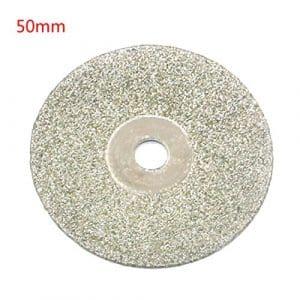 Disques abrasifs d'affûteuse de diamant de disque de coupe pour les outils rotatoires de Dremel 1pc 50mm