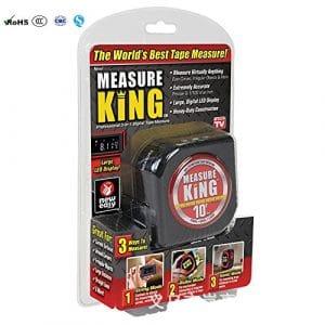 mk-mc12/4Measure King 3-en-1mesures pour mètre à ruban numérique, modalités Sonic et modalités Roller comme vu en TV