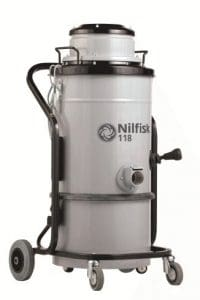 Nilfisk 118 MC Aspirateur à courant alternatif