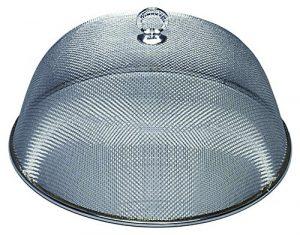 Brema Cloche Alimentaire Moustiquaire à Fromage ou Gateau, Acier inoxydable, Diamètre 35 cm
