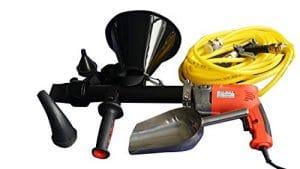 Pistolet à mortier électrique pistolet à calfeutrer quickpoint pistolet avec buse de pulvérisation 5pcs