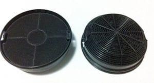 Paire Filtre F00479/1S charbon actif (2pièces) Hélices turboair Certosa fet-c2F 15