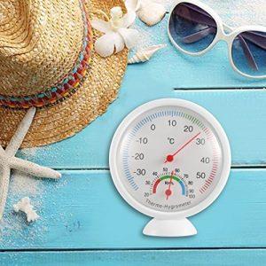 Ws-a1Intérieur Extérieur Thermomètre hygromètre Portable Plastique Thermohygrometer
