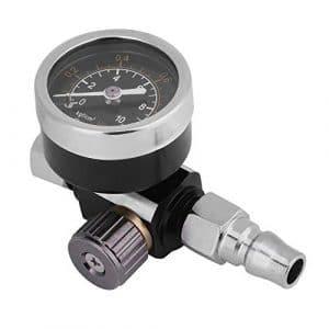Zunate Régulateur d'air – Connexion BSP 1/4 Pouce – Régler Précision Le Contrôle de l'air – Convient aux Pistolets Pulvérisateurs