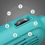 BEAUDENS Outils Rotatifs Multi-usage 100 Accessoires, Avancé Kit Outil Rotatif Électrique Multifonction à 6 Vitesses de Rotation avec Mallette Portable pour Découper/Meuler/Polir/Percer/Sculpter
