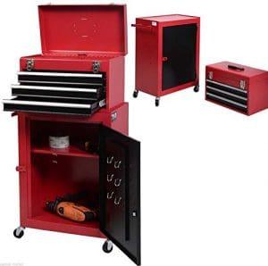 Generic. en Mesure de stockage T Tool box Coffre est Loc chariot chariot de cabinet Garage mécanicien Net G verrouillable de stockage Rouge 5drawer Rouge tiroir Rouge.